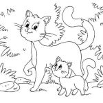 Cats and Kittens Coloring Books Inspiring New Puppy and Kitten Coloring Pages – Fym