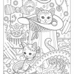 Cats and Kittens Coloring Books Marvelous Beautiful Cute Cat and Dog Coloring Pages – Nicho