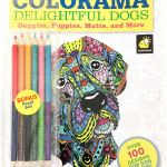 Cats and Kittens Coloring Books Marvelous Colorama Coloring Book Delightful Dogs
