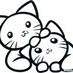 Cats and Kittens Coloring Books Wonderful Kitten Colouring In – Sugarbucketink