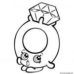Cheeky Chocolate Shopkin Beautiful Elegant Shopkins Strawberry Coloring Pages Nocn