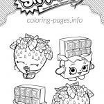 Cheeky Chocolate Shopkin Inspirational Strawberry Kiss Shopkins Coloring Page Coloring Page