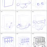 Cheeky Chocolate Shopkin Marvelous How to Draw Cheeky Chocolate From Shopkins Printable Step by Step