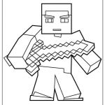 Chef Coloring Page Amazing Minecraft Printable Coloring Pages Suzen Rabionetassociats