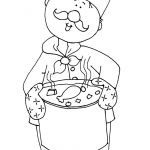 Chef Coloring Page Amazing Pin by Paula Bloom On Craft Ideas