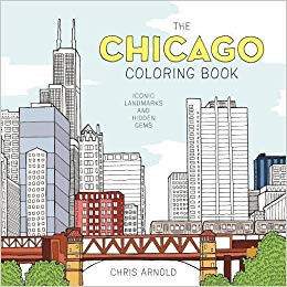Chicago Cubs Coloring Book Inspired the Chicago Coloring Book Iconic Landmarks and Hidden Gems Adult