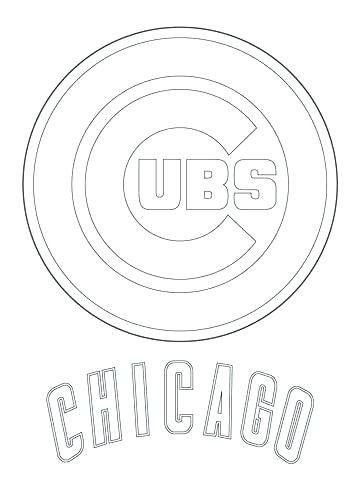 Chicago Cubs Coloring Book Marvelous Logo Coloring Pages – Accanto