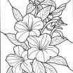 Child Coloring Pages Online Excellent Flower Bouquets Coloring Pages Vases Flower Vase Coloring Page Pages