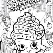 Child Coloring Pages Online Excellent Line Coloring Pages to Print Shopkins Colour Color Page Cupcake