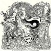 Chinese Dragon Coloring Pages Beautiful Tiger and Dragon Coloring Pages