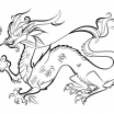 Chinese Dragon Coloring Pages Excellent Free Printable Dragon Coloring Pages for Kids