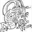 Chinese Dragon Coloring Pages Inspired Chinese Dragon Faces