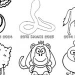 Chinese New Year Coloring Sheet Exclusive Chinese New Year 2019 Animal Coloring Pages Printable Happy New
