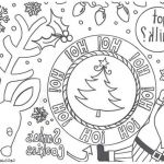 Christmas Color Pages for Adults Excellent Beautiful Night before Christmas Coloring Sheet – Howtobeaweso
