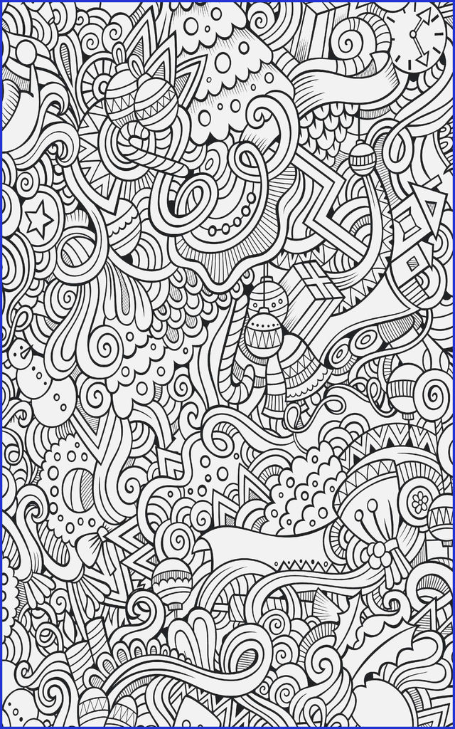 Christmas Coloring Decorations Inspirational Luxury Adults Christmas Coloring Pages – Qulu