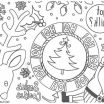 Christmas Coloring Decorations Pretty Beautiful Night before Christmas Coloring Sheet – Howtobeaweso