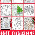 Christmas Coloring Pages for Adults Elegant Christmas Coloring Pages to Print Free Free Christmas Coloring Pages