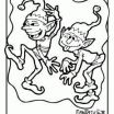 Christmas Elves Coloring Pages Amazing Pinterest