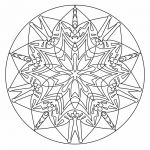 Christmas Mandala to Color Best Inspirational Mandala Coloring Pages Printable