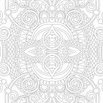 Christmas Mandala to Color Brilliant Mandala МандаРа Coloring Page Printable Adults Animal Flower Holiday
