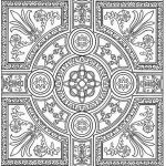Christmas Mandala to Color Exclusive Luxury Adult Coloring Pages Patterns