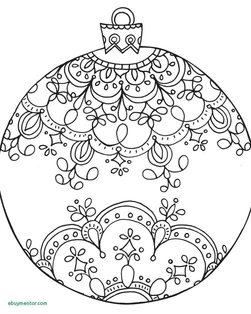 Christmas ornaments Coloring Pages Printable Awesome Fresh Christmas Decorations Clip Art Black and White