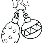 Christmas ornaments Coloring Pages Printable Beautiful Christmas ornament Coloring Pages Print to Angel ornaments Printable