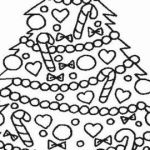 Christmas ornaments Coloring Pages Printable Inspirational Free Printable Christmas Tree ornaments Coloring Pages Awesome Free