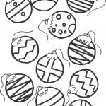 Christmas ornaments Coloring Pages Printable Inspired Luxury Christmas to Color