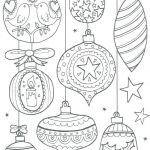 Christmas ornaments Coloring Pages Printable Marvelous Coloring Pages ornament Coloring Pages Free Holiday Color