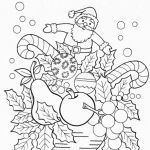 Christmas Pictures to Color Printable Brilliant Christmas Coloring Templates