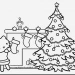 Christmas Tree Coloring Book Awesome Hello Kitty Coloring Page
