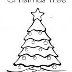 Christmas Tree Coloring Book Best Of Free Printable Christmas Coloring Pages for Kids