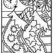 Christmas Tree Coloring Exclusive Free Xmas Coloring Pages Printable