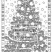 Christmas Tree Coloring Pages for Adults Excellent Christmas Coloring Page Christmas Treats Holiday Coloring Book