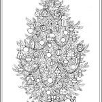 Christmas Tree Coloring Pages for Adults Pretty Pin by Cheryl Korotky On Christmas Coloring Pages