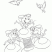 Cinderella Coloring Pages Printable Inspired Princess Cinderella Mice Have Fun Coloring Pages