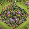Clash Of Clans Pictures Awesome town Hall Level 9 Farming Bases