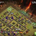 Clash Of Clans Pictures Inspirational Gowibo Th9 Motzarela Vs Yuniel Jr Clash Of Clans Dingit