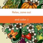 Color by Number Adult Inspiring Pigment Adult Coloring Book On the App Store