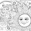 Color by Number Advanced Pretty Hello Kitty Coloring Page