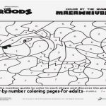 Color by Number Coloring Pages for Adults Awesome New Color by Number Coloring Pages – Lovespells