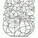 Color by Number Coloring Pages for Adults Fresh Coloring Free Printable Coloring Book Pages Sheets for Kids