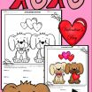 Color by Number Dogs Creative Valentine S Day Dogs Evaluating Functions