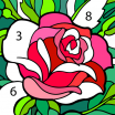 Color by Number Flowers New Happy Color™ – Color by Number Apps On Google Play