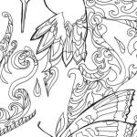 Color by Number Pictures for Adults Inspired Mystery Coloring Pages