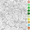Color by Number Printables for Adults Free Wonderful Nicole S Free Coloring Pages Color by Numbers Strawberries and