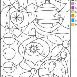 Color by Number Printables for Adults Marvelous Free Color by Number Pages Unique Christmas Color by Numbers