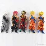 Color Dragon Ball Z Beautiful 2019 5style 32cm Dragon Ball Z Super Saiyan son Goku Msp Lunar New