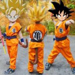 Color Dragon Ball Z Beautiful 2019 Cute Unicorn Dragon Ball Z Full Set Suit for Children Kids Goku